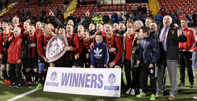 County Antrim FA Junior Shield Winners