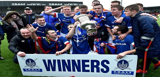 County Antrim FA Steel & Sons Cup Winners