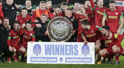 County Antrim FA Senior Shield  Cup Winners